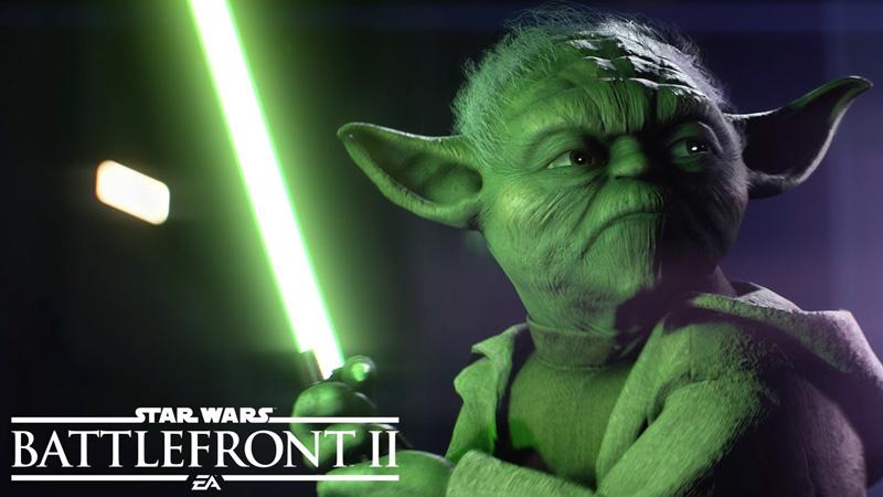 "Trailer gry ""Star Wars: Battlefront II"" (Mistrz Yoda)"