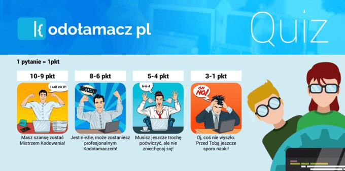 Warsztaty z programowania - quiz