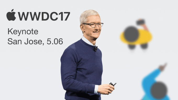 Konferencja WWDC17 Apple'a z 5 czerwca 2017 r. na YouTube'ie