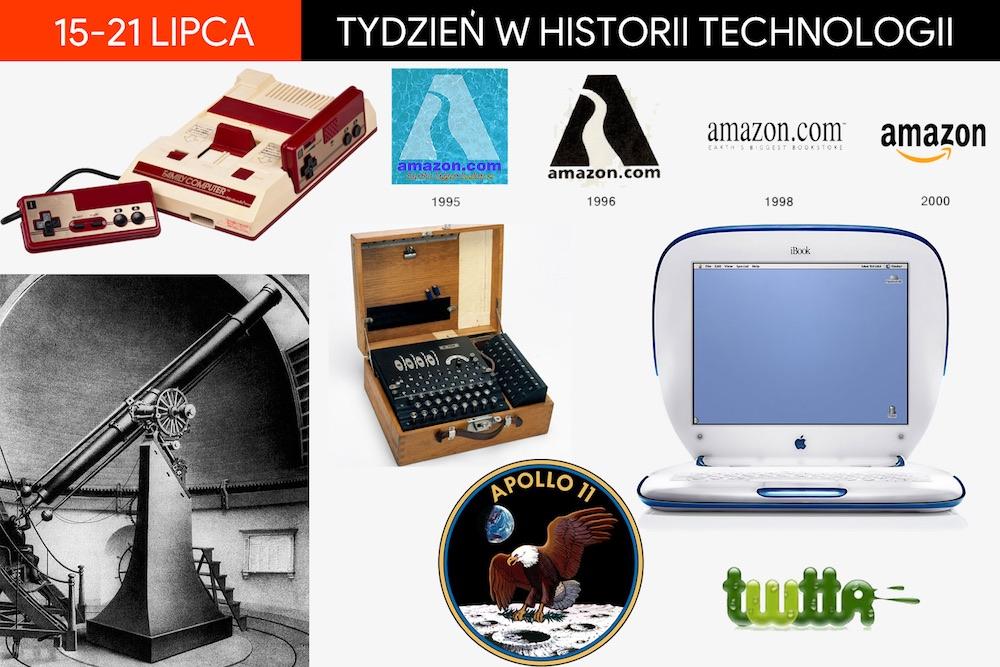 15-21 lipca: Tydzień w historii technologii