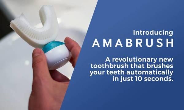 Amabrush – pierwsza na świecie automatyczna szczoteczka do zębów