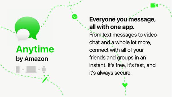 Anytime od Amazona będzie kolejnym komunikatorem?