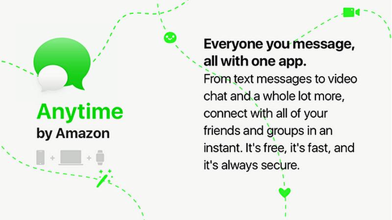 Anytime od Amazona - komunikator mobilny