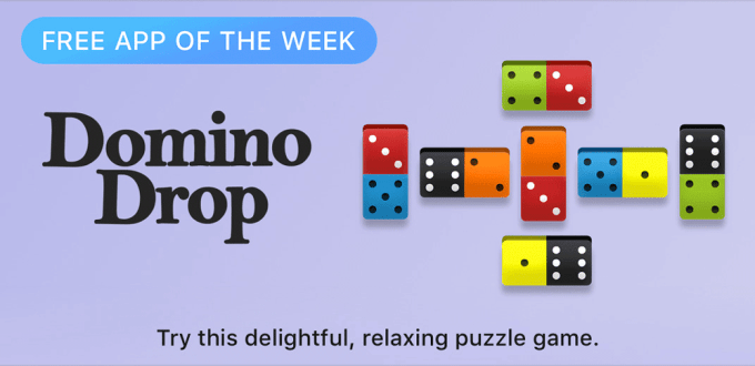 Domino Drop - Free App of the Week