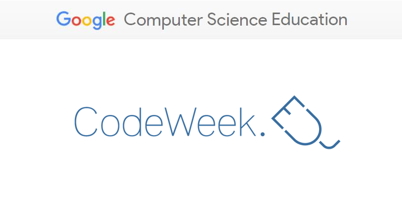 Europe Code Week 2017 - dofinansowanie przez Google