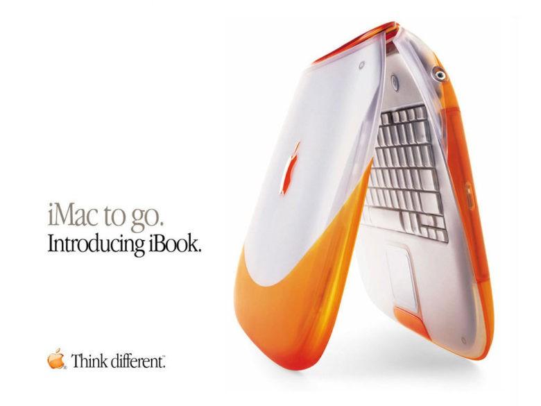 Apple iBook (pomarańczowy)