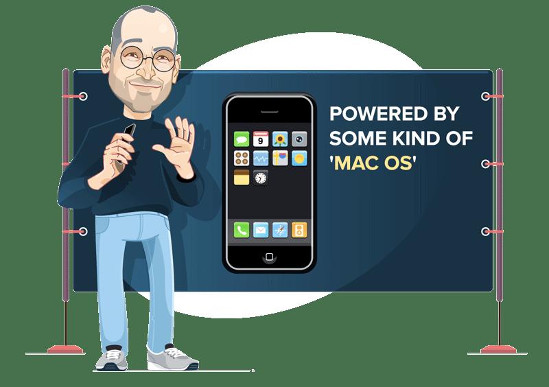 iPhone OS 1 (czerwiec 2007)