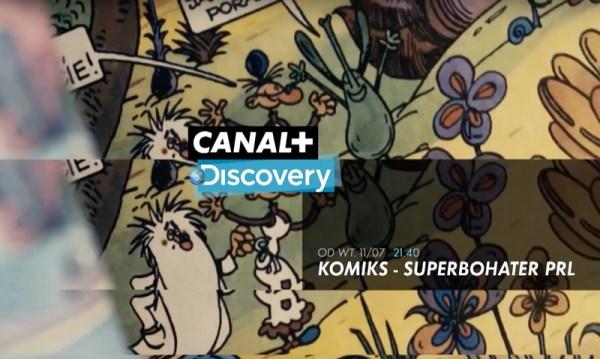 Seria dokumentalna o polskim komiksie w Canal+ już w lipcu