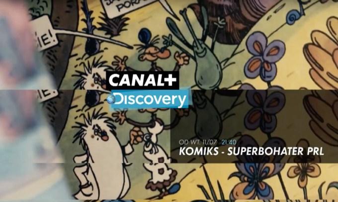 Komiks - Superbohater PRL (seria dokumentalna o polskim komiksie Canal+ Discovery)