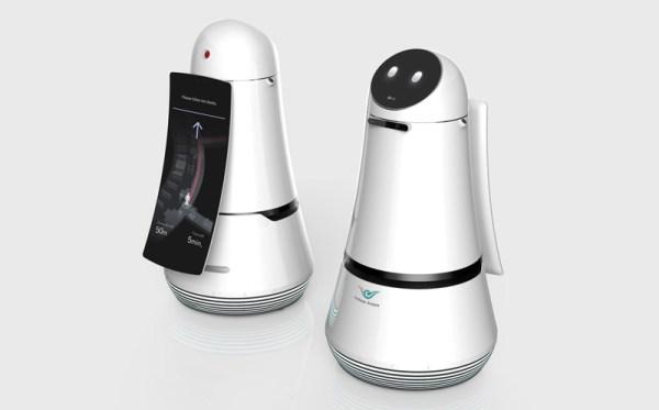 Roboty LG na największym lotnisku w Korei