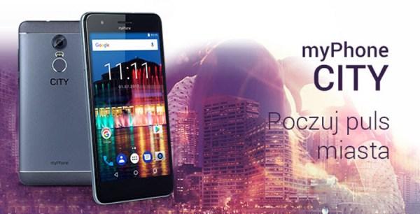 myPhone CITY wchodzi na rynek już w poniedziałek