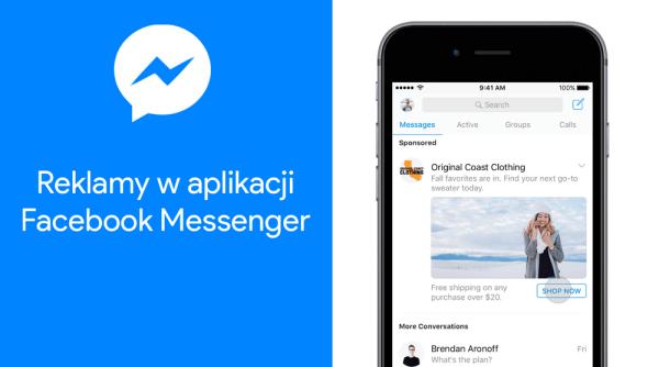 Facebook zaczął wyświetlać reklamy w Messengerze