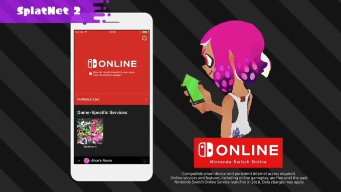 SplatNet 2 - Nintendo Switch Online
