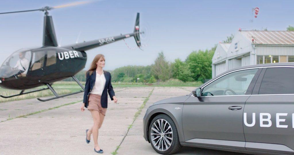 uberHELIKOPTER startuje w Polsce