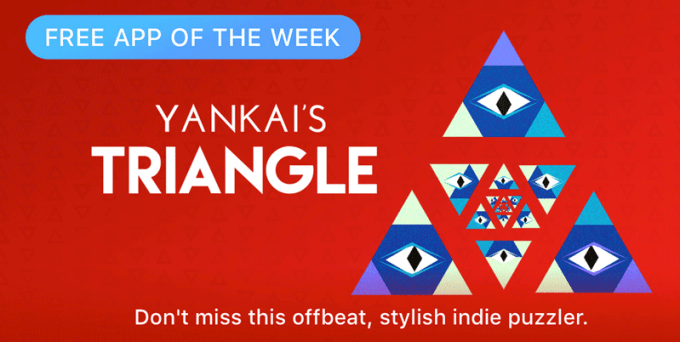 YANKAI'S TRIANGLE - Free App of The Week