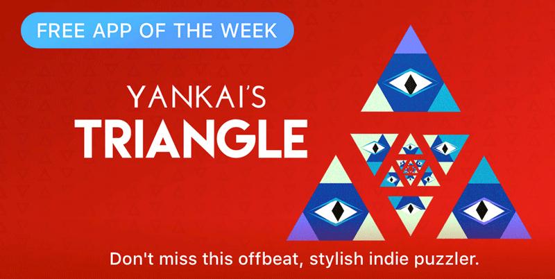 YANKAI'S TRIANGLE - Free App of The Week