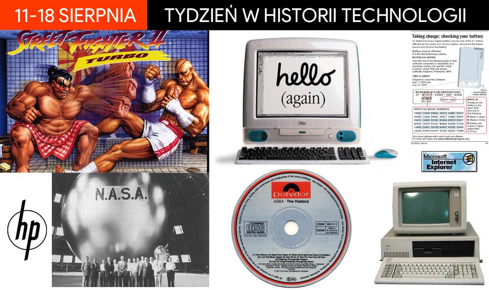 11-18 sierpnia - tydzień w historii technologii