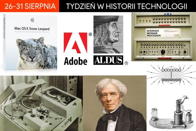 26-31 sierpnia: Tydzień w historii technologii