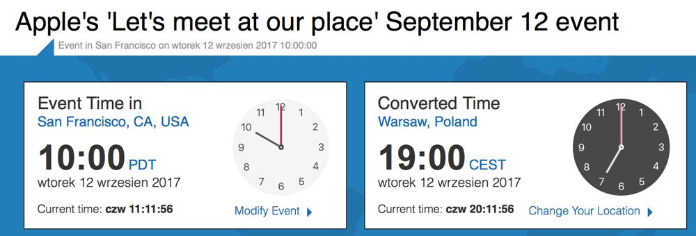 Apple Special Event (12 września 2017 r.)