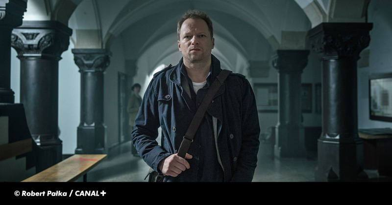 Maciej Stuhr - kadr z serialu Belfer 2