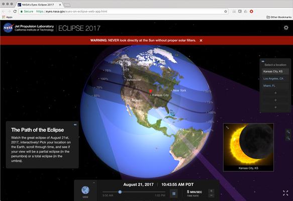 Eyes Eclipse 22017 - aplikacja webowa