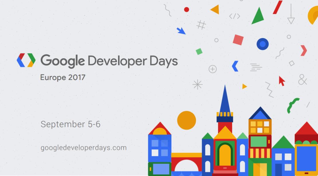 Google Developer Day Europe 2017 (Kraków, 5-6 września 2017)