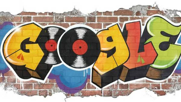 44 lata hip-hopu w Google Doodle