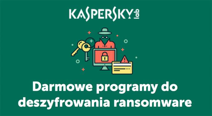 Polski serwis No Ransom od Kaspersky lab