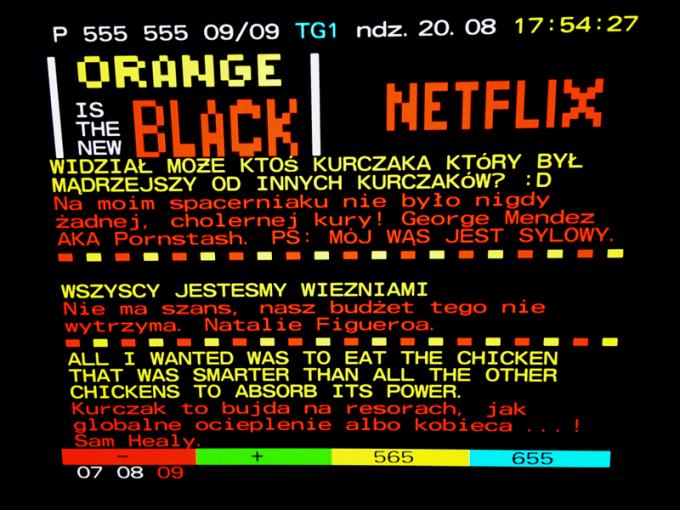 Orange Is The New Black (555. strona Telegazety)