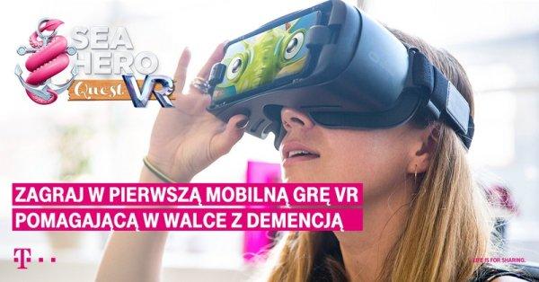 T‑Mobile wprowadza Sea Hero Quest VR