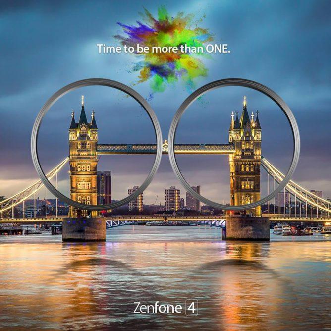 Asus ZenFone 4 teaser