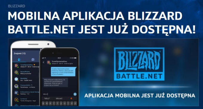 Aplikacja mobilna Blizzard Battle.net