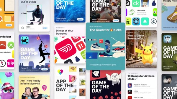Spoty promujące nowy sklep App Store pod iOS 11