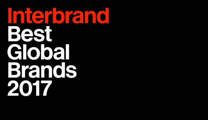 Best Global Brands Internbrand 2017