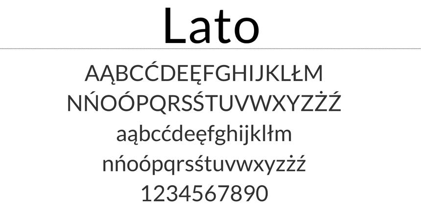 Font Lato