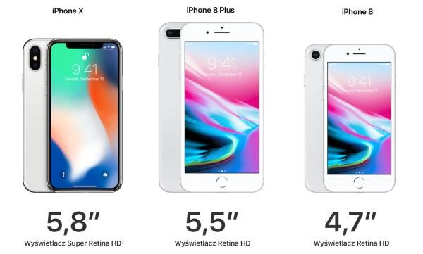 Wszystko co Apple pokazało na konferencji 12 września 2017 r.