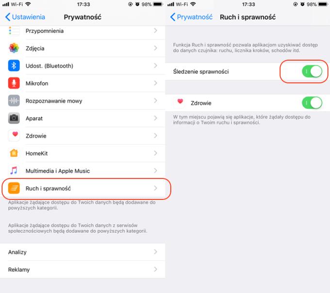 Jak włączyć funkcję Facedown na iPhone'ie z systemem iOS 11?