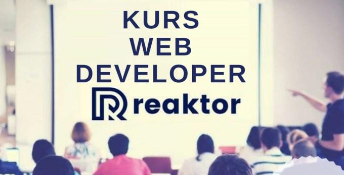 Kurs Web Developer - Reaktor PWN