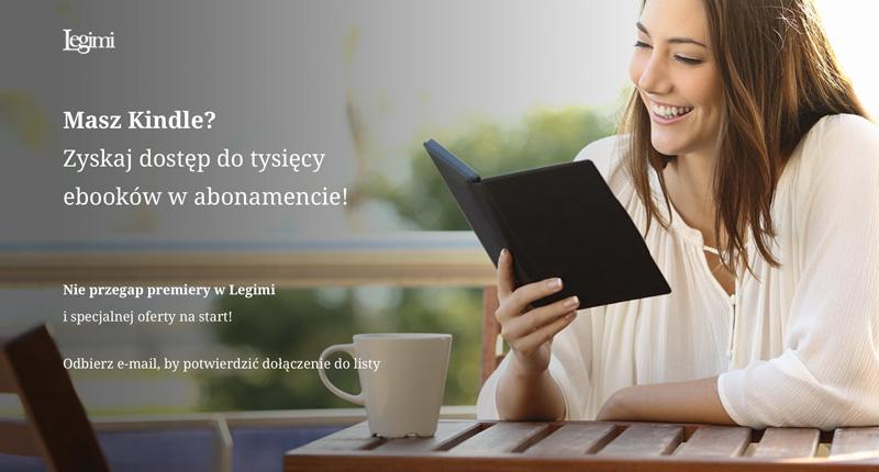 Abonament Legimi na czytniki Kindle