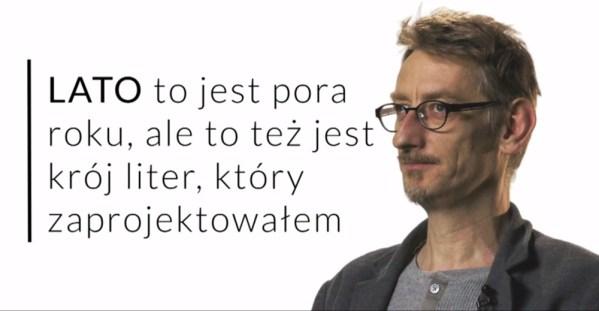 """Font """"Lato"""" światowym sukcesem Łukasza Dziedzica"""