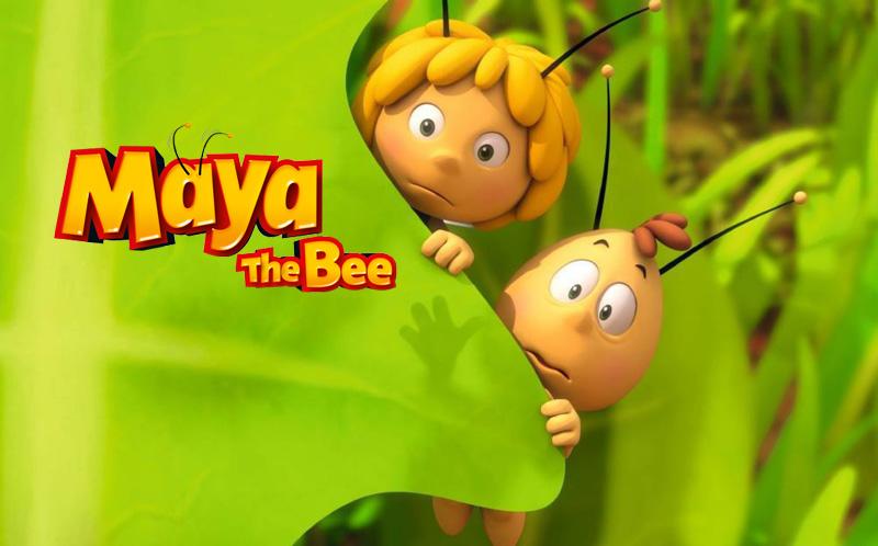 Maya the bee (Pszczółka Maja) Netflix, Studio 100