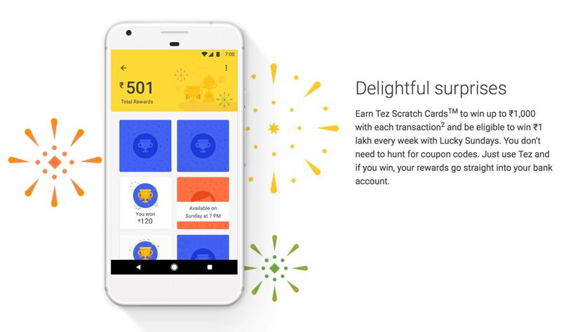 Niezpodzianki w aplikacji mobilnej Tez od Google'a