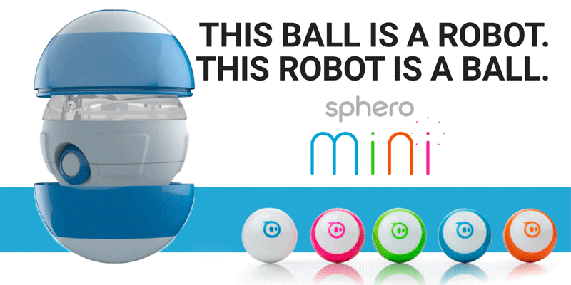 Sphero Mini - kulka - robot sterowana za pomocą smartfona