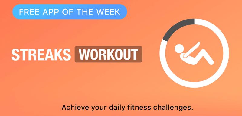 Streaks Workout - Free App of the Week