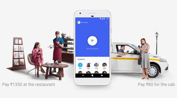 """""""Tez"""" – aplikacja Google'a do płatności mobilnych w Indiach"""