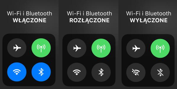 Jak całkowicie wyłączyć Bluetooth i Wi-Fi pod iOS 11?