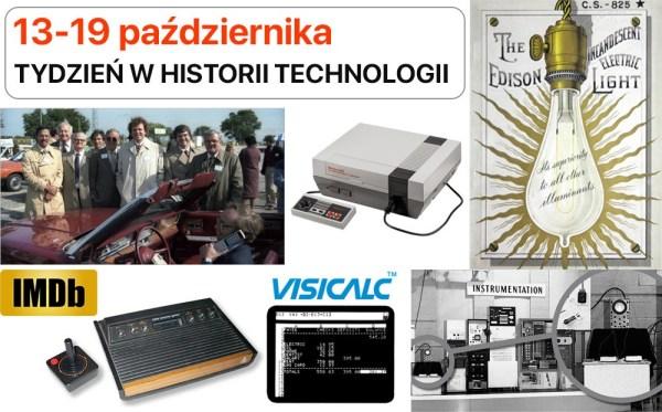 [13-19 października] Tydzień w historii technologii