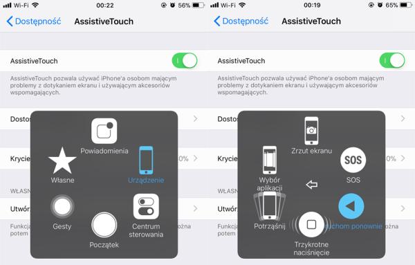 Jak wyłączyć iPhone'a bez używania przycisku zasilania?