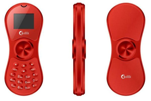 Telefon komórkowy, który jest jednocześnie fidget spinnerem