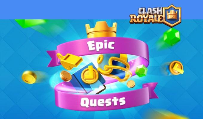 Clash Royale z aktualizacją Epic Quest Update
